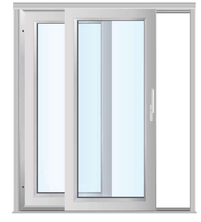 Горизонтально раздвижные окна